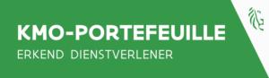 Logo KMO-portefeuille - 361° is erkend dienstverlener